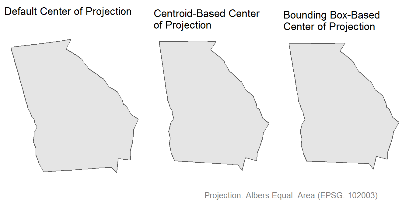 Choosing the Right Center of Projection For Your Map